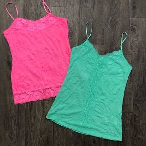 2 tank tops from Maurice's